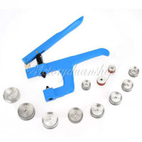 Wholesale Dying Tool - Free Shipping Watch Watchmakers Crystal Press Back Case Bezel Adjust Presser Closer Pliers Watch Repair Tool with 11 Dies,dandys