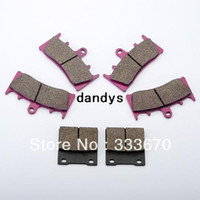 Wholesale Suzuki Bandit Levers - 2pcs lot 6 Front & Rear Brake Pads For Suzuki GSX 1300 R Hayabusa GSF 1200 Bandit 750 1100 W T TL 1000 R,dandys