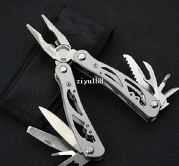 Wholesale Pliers Clamps - Wholesale - Outdoor Sporting Goods Multi-purpose Tool Clamp Multi-function Combination Pliers Self-defense Mini Multi-function Knife PliersT