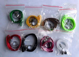Wholesale E Cig Ring Clips - Lanyard Necklace String Neck Chain Sling w Clip Ring for Ego Series ego-t ego-c ego-w Electronic Cigarette E-Cigarette E Cig Hot Selling