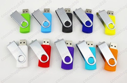 Wholesale Usb Memory 64gb Swivel - 50pcs lot swivel 32G 64G USB 2.0 Flash Memory Pen Drives GIFTAEFIE Sticks Disks Discs 32GB 64GB Pendrives Thumbdrives DHL