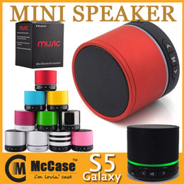 Wholesale Beatbox Bluetooth Speakers - New Super Bass HIFI Mini Portable BeatBox Wireless Stereo Bluetooth Speaker With LED Lights b Label Mic Portable Speakers TF Card Call