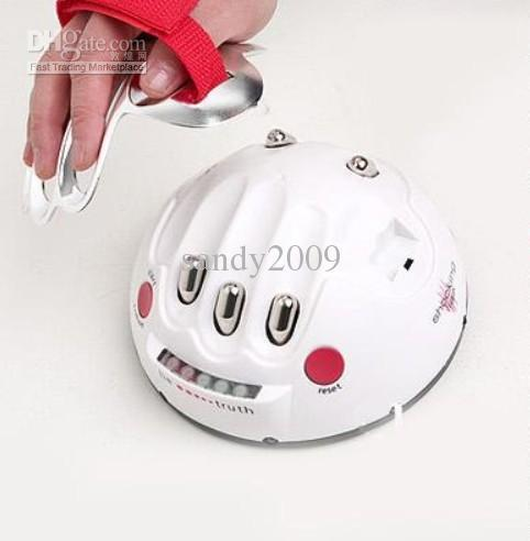 HOT!! China Post Air ! Cool Electronic Gadget Electric Shock Lie Detector Shocking Liar gift