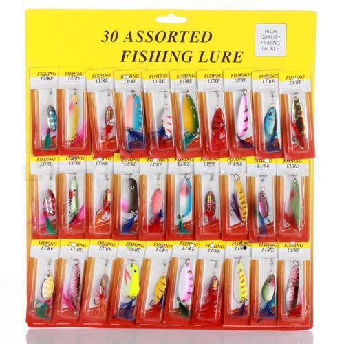 6pcs Fishing Lure Hard Baits VIB Lure Treble Hook Fishing Bait Wobbler Crankbait