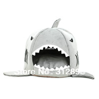 tubarão da casa do gato venda por atacado-Limite legal cama de tubarão moda gato ou cão casa 2012W0004