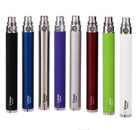Wholesale ego slim - Slim Vape Pen Vision Spinne 1 VV eGo Twist E Cig Battery 1300 1100 900 650 mAh Vaping + USB Charger