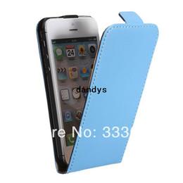 Portefeuille en cuir PU avec support rigide pour Apple pour iPhone 5 5S, dandys ? partir de fabricateur