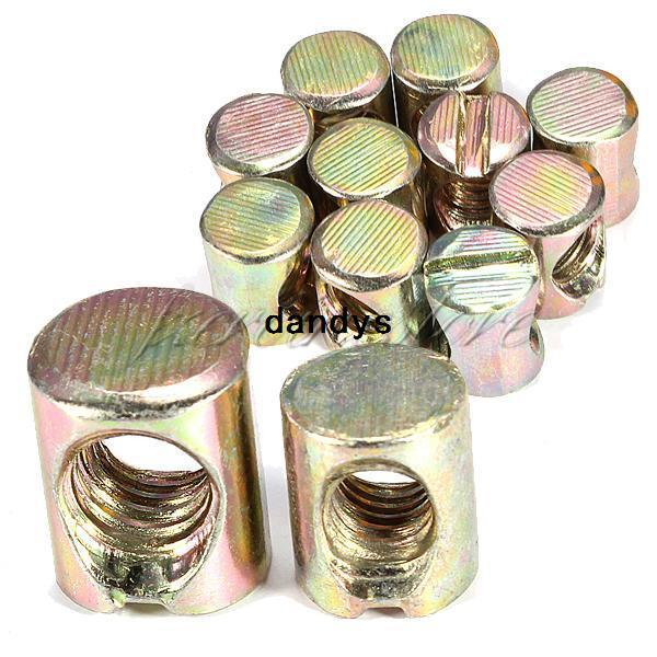 2018 Barrel Bolts M6 6x10x12mm Cross Dowel Slotted Furniture Nuts For Beds  Cribs Chairs,Dandys From Dandys, $7.32 | Dhgate.Com