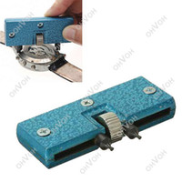 Wholesale Watch Repair Tools Opener - S5Q Watch Adjustable Opener Back Case Press Closer Remover Repair Watchmaker Tool AAACWQ