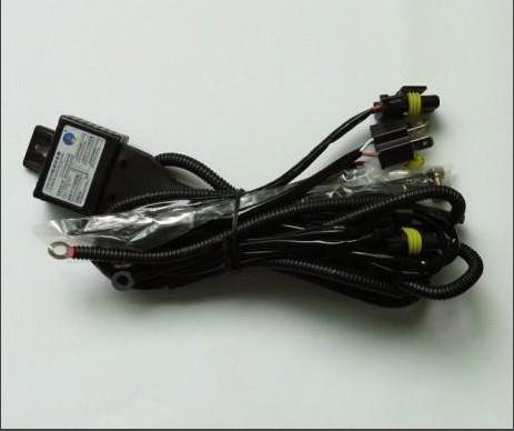 자동차 자동 H4 하이 및 로우 HID 크세논 전환 키트 라이트 레지스터 릴레이 와이어 하네스