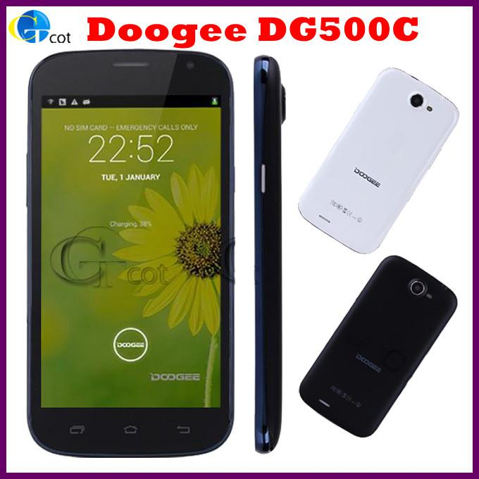 Doogee DG500C MTK6582 Quad Core android Smart phone 5.0inch IPS QHD Screen 1GB 4GB 12.6MP Camera Android 4.2 OS 3G/GPS/OTG