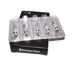 Wholesale Kanger Mini Protank Clearomizer - Kanger Protank Protank Mini 1 2 Protank Clearomizer eGo Thread Coils! kanger mini Protank protank 2 evod coil core heads AAAA quality