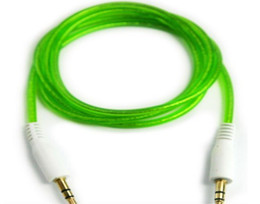$enCountryForm.capitalKeyWord Canada - Hot selling Beautiful 3.5mm to 3.5 mm Color Colorful Audio Stereo Aux Cable For phone smartphone Mp3 Mp4 PC 3.5mm Jack 3000pcs lot