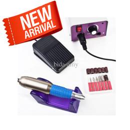 Esmalte de uñas online-Envío gratuito Profesional Nail Art Glazing Drill Machine Manicura - Y614
