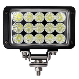 Wholesale Waterproof Atv Offroad Lights - 3900lm 45W 15 X 3W Waterproof offroad car led work light lamp bar with Epistar LEDs for Motorcycle   Tractor   Boat   SUV   ATV