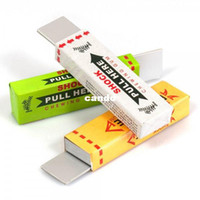 Wholesale Shock Chewing Gum Toy - novelty Safety Electric Shock Shocking Chewing Gum Toy for Gag Trick Party Prank Joke