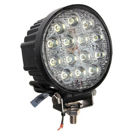 $enCountryForm.capitalKeyWord Canada - 10pcs ATV 4.5inch 42W led work light lamp 12V LED tractor work lights bar spot Flood offroad off road 4X4 accessories car truck 24V