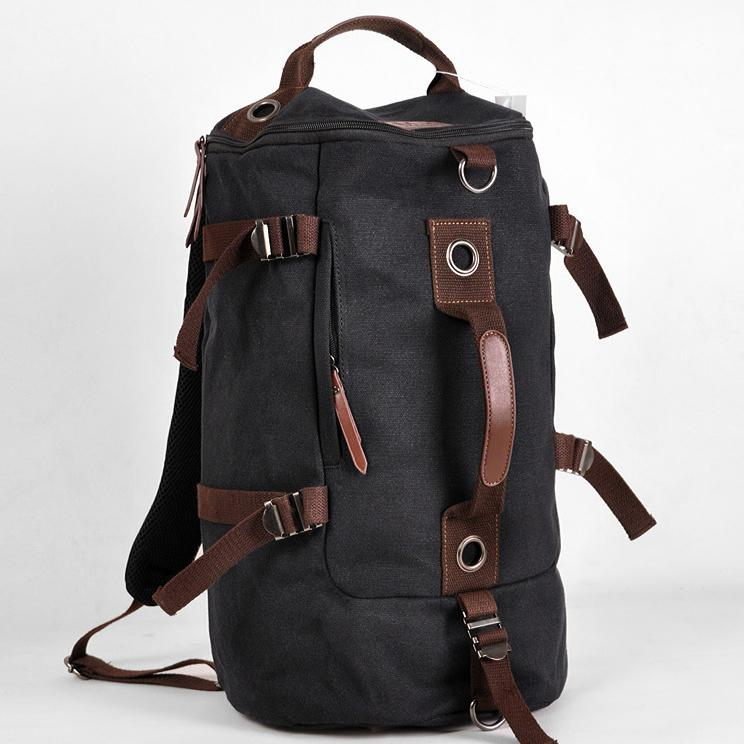 Designer Vintage Canvas Cool Backpack Men Travel Sports Bag ...