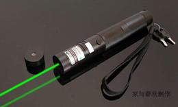 Super Puissant matériaux militaires 100000m 532nm haute puissance pointeurs laser vert SOS LED lumière chasse enseignement de la lampe de poche + clé de sécurité en Solde