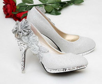 Wholesale Women s Shoes High Heels Fashion Pumps for Women Rhinestone Flower Shoes Sexy Shoes for Wedding