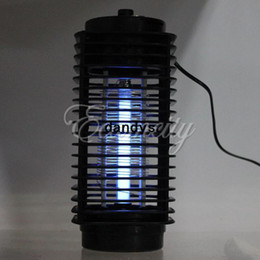 Wholesale Electronic Insect Lamp - Free Shipping 220V Black Electronic Photocatalyst Flying Insect Pest Mosquito Moth Killer catcher repellent Light Lamp Household,dandys