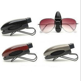 Wholesale Clips For Sunglasses - Personalized Sunglasses Clips,car sun visor clip for eyeglasses 10pcs lot, free shipping