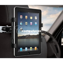 "Wholesale Seat Back Mount Bracket - Universal Car Back Seat Headrest Mount Holder Stand Bracket Kit 7"" - 13""for iPad Mini 4 3 2 for SAMSUNG Galaxy Tab 10.1 Tablet"