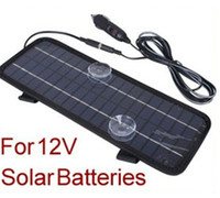 Wholesale Moto Battery Charger - Powerful New! 12V Portable Solar Panel Battery Charger 4.5W For Car Boat Moto Battery Charger Free Shipping