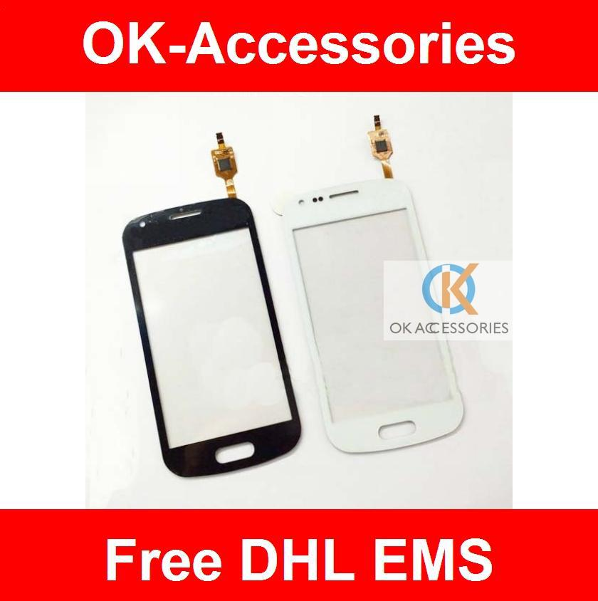 Para Samsung Galaxy Duos S7562 S7560 con Duos Logo Touch Screen Repair Assembly 20S / Lot DHL EMS gratis