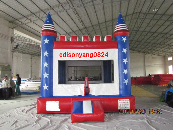 best selling (ED)OEM manufactory amusement park inflatable bouncer,inflatable bounce house