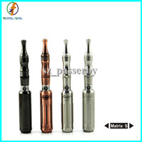 Wholesale Lastest E Cigarette - 2014 Lastest GS Smart Variable Voltage Matrix-S Multi 14430 650mAh Batteries Mod All Steel Material E Cigarette Kit Matrix S EGO 510 Retail