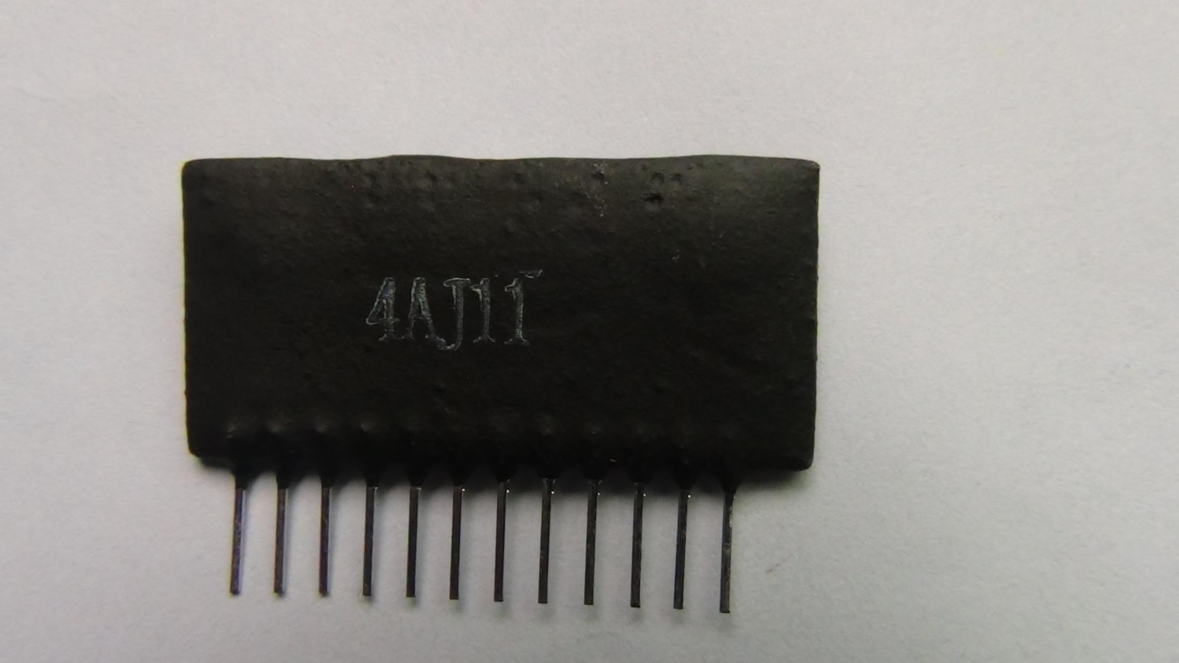 ¡Envío gratis! 4AJ11 - Componentes electrónicos del excavador - Accesorios de electrodomésticos eléctricos - Piezas de máquinas de excavación - Módulo de película gruesa para el excavador