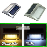 Wholesale Power Projects - New Outdoor Solar Lamps Solar Led Flood Lights 2 Leds Garden Outdoor Projecting Landscape Lawn Lamp Solar Powered Wall Lamps Solar Lights