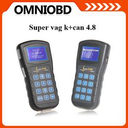 Wholesale Hot Vag - 2015 hottest Super VAG K+CAN V4.8 Super VAG K+CAN V4.8 obd434 English Spanish Italian Portuguese--OBD07