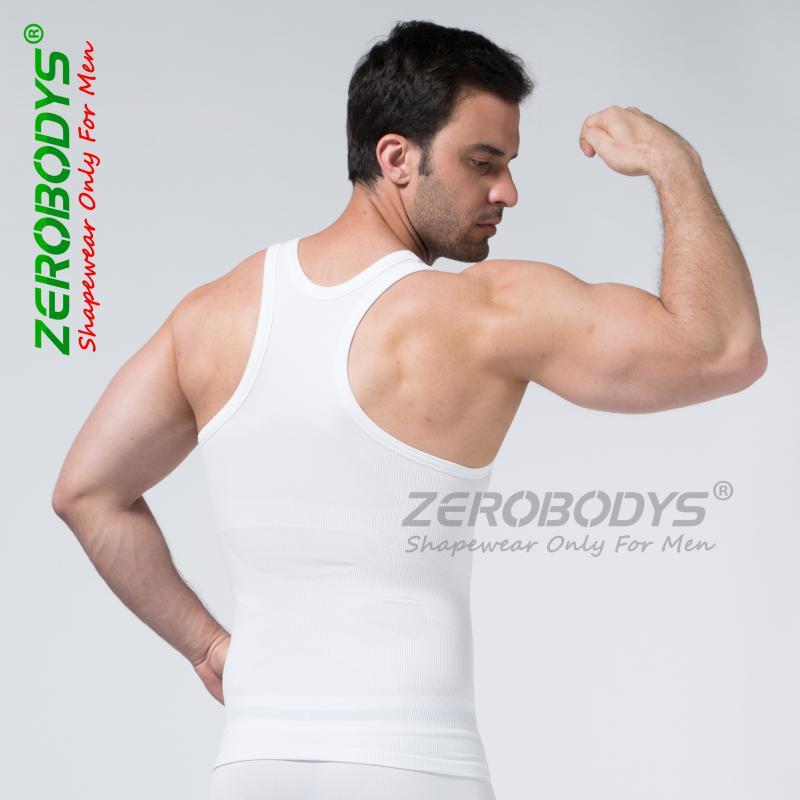 59fa075735944 2019 Original ZEROBODYS Comfortable Men S Body Shaper I Shaped Vest Men  Seamless Nylon Spandex Underwear Men S Bodysuit From Xbodys