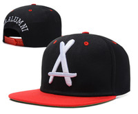 Wholesale Tha Alumni Snapback Sale - Tha Alumni Snapbacks Fashion Snapback Hats Black Snapback Caps Womens Mens Snap Backs 2014 Hot Sale Snap Back Hip Hop Caps Red Brim Hat