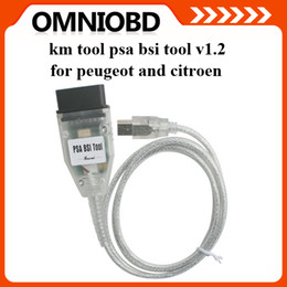 Wholesale Psa Peugeot - PSA BSI Tool V1.2 for Peugeot and Citroen KM Tool 2015 New Arrivals Odometer Programmer with Best Price