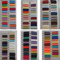 Wholesale Chiffon Fabrics For Wedding Dresses - 100D Chiffon Dresses Fabric for Wedding Prom Evening Party Cocktail Bridesmaid Dresses Cheap Color Charts Dress Fabric Accessories