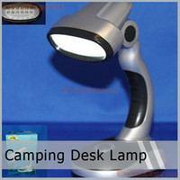 Wholesale High quality W Led Portable Folding Desk Lamp Room Lamp For Camping Indoor Outdoor freeshipping
