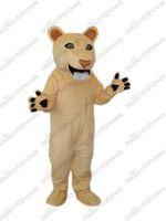 Wholesale Costume Cougars Mascot - Beardless Cougar Costume Lion Mascot Costume Lioness Dress