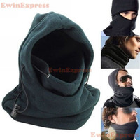 Wholesale Double Cs - Double Layers Thicken Warm Full Face Balaclava Cover Beanie CS Hat For Outdoor War Game Hunting Cycling Ski Winter