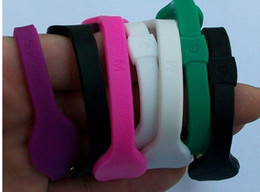 Wholesale Silicone Wristbands Retail - Free shipping 33 colors 5 sizes silicone with hologram bracelets bands balance energy wristband with retail boxes