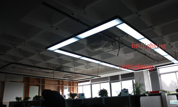 Meeting Room Black Pendant Lights Modern Office Hanging Lighting LED Tube  Conference Hall Pendant Lighting Energy Efficiency Office Lighting Meeting  Room ...