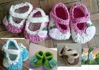 magasin de bébé chaussures achat en gros de-9% de réduction.Infant Fille Chaussures / Flower Baby Booties / Chaussures de Crochet Crib -Drop shipping.Shoes boutique .Shoes vente.Bébé Toddler Shoes. 3 paire / 6pcs.LH.