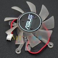 asus graphics fan achat en gros de-Ventilateur de refroidissement pour carte graphique Asus 8600GT 9600GT 0.08A 0.11A 0.13A 0.15A