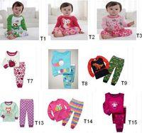 Wholesale Sets Jumping Beans - Wholesale - Kids Pyjama UnderwearFree Fast Shipping Jumping Beans Children's Pajamas Suit Toddler Sleeping wear PJ'S Girl Pijama Sets -M933