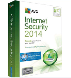 Wholesale Software Wholesalers - Genuine protect AVG Internet Security 2017 AVG internet security antivirus software fully functional English Version 3users 1 4 years
