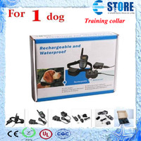 Wholesale Lcd Remote Pet Dog Training - New (1 dog)LCD 100LV Level 300M Pet Dog Training Collar Shock Vibra Vibrate Remote Control No Barking Anti Bark,wu