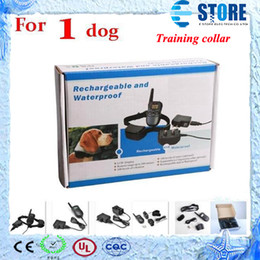 Wholesale Anti Bark Remote Collar - New (1 dog)LCD 100LV Level 300M Pet Dog Training Collar Shock Vibra Vibrate Remote Control No Barking Anti Bark,wu