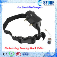 Wholesale Dog Bark Control Barking Collar - Voice control ELECTRONIC AUTO Small Medium Anti No Barking Dog Training Shock Collar,wu